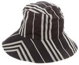 Burberry Striped Bucket Hat
