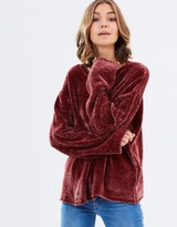 Alessandra Crew Knit Top