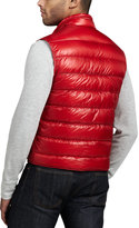 Moncler Gui Puffer Vest, Red