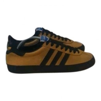 adidas Yellow Suede Trainers
