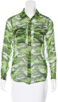Equipment Silk Camouflage Top