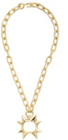 CHUFY X Aracano Sun gold-plated necklace