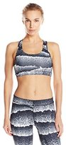 Puma Women's Powershape Forever Graphic Top, White/Black