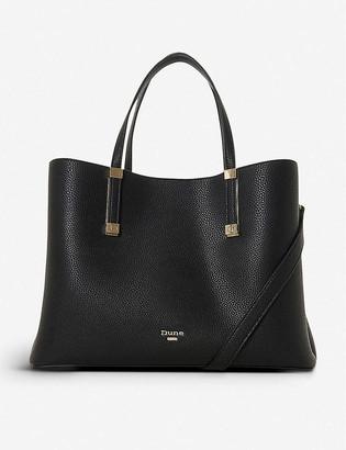 Dune Dorrie faux-leather tote