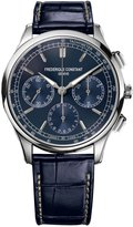 Frederique Constant Flyback Manufacture Chronograph Watch in Stainless Steel