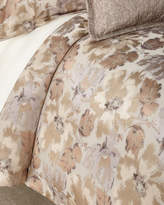 Ann Gish Smokey Floral Queen Duvet Set