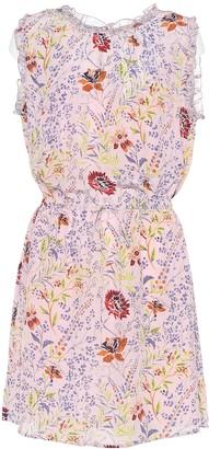 Velvet Raelynn printed sleeveless dress