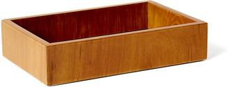 Selamat Captain's Amenities Tray - Varnished Teak