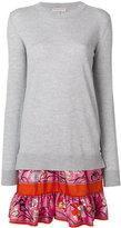 Emilio Pucci layered knit dress - women - Silk/Virgin Wool - XS