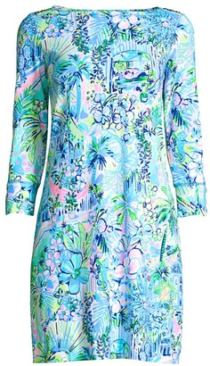 Lilly Pulitzer Sophie Floral-Print Shift Dress