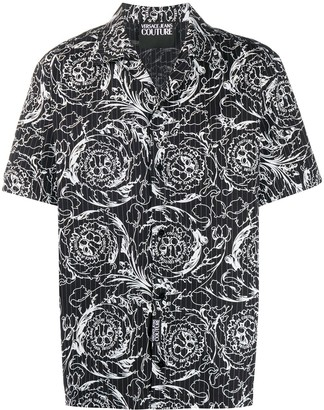 Versace Jeans Couture Printed Short-Sleeved Shirt