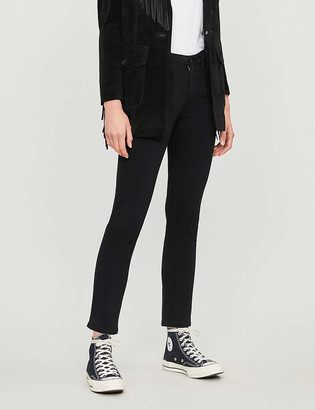 AG Jeans Prima cropped cigarette mid-rise jeans