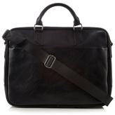 Jeff Banks Black Large Business Bag