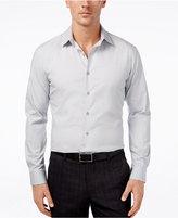 Alfani Slim Fit + Stretch Men's Solid Dress Shirt, Only at Macy's