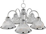 Trans Globe Lighting Transglobe Lighting 1090 BN Chandelier with Frosted Glass Shades