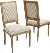 JCPenney Blaine Set of 2 Upholstered Dining Chairs