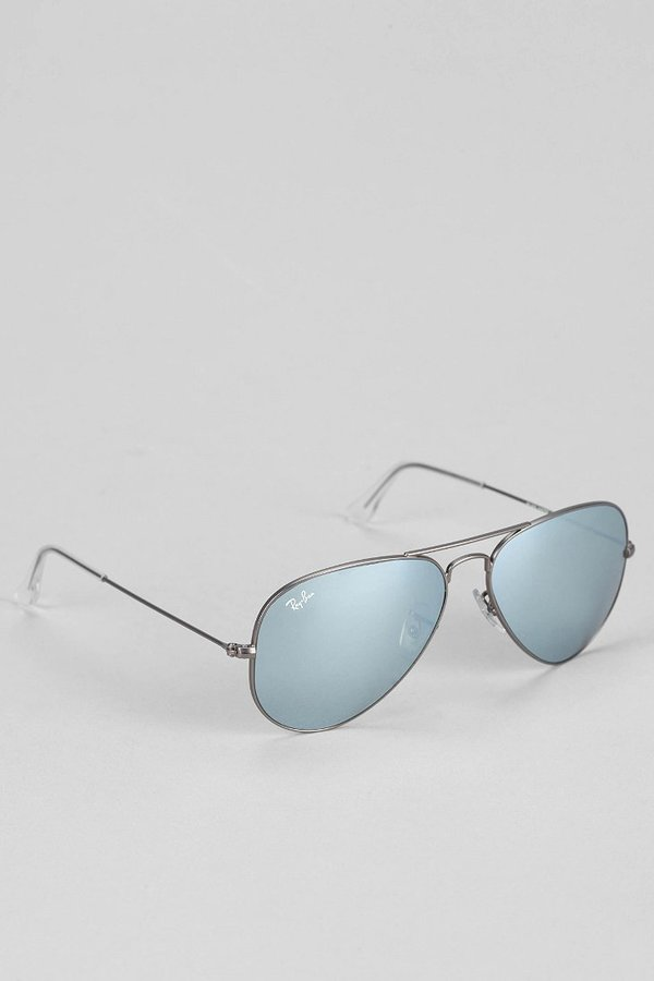 Ray-Ban Original Aviator Matte Gunmetal Sunglasses