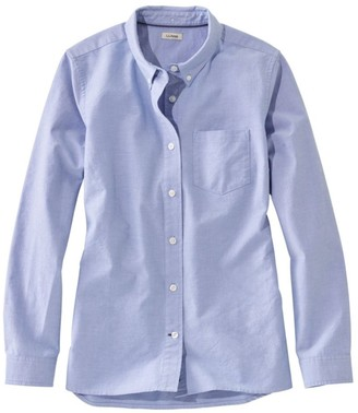L.L. Bean Women's LakewashedA Organic Cotton Oxford Shirt