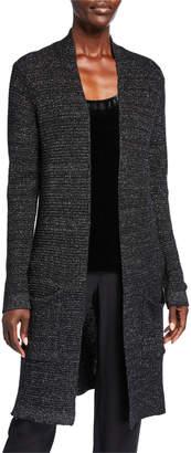 Eileen Fisher Petite Merino Wool Sparkle Long Cardigan