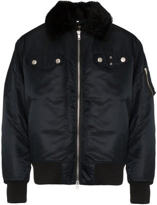 Calvin Klein Long Sleeve Oversized Bomber Jacket