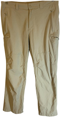 The North Face Beige Polyester Jeans