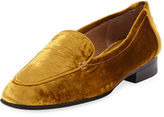The Row Adam Velvet Loafer