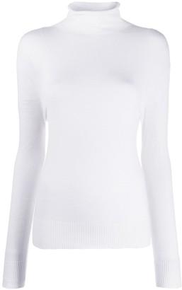 Cavallini Erika cashmere mock-neck top