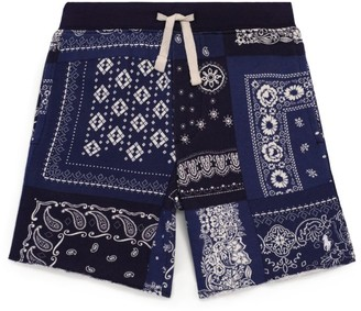 Ralph Lauren Kids Bandana Print Shorts (2-4 Years)