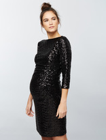 A Pea in the Pod Js Boutique Sequin Maternity Dress