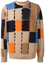 MSGM pointelle jumper - men - Polyamide/Wool - S