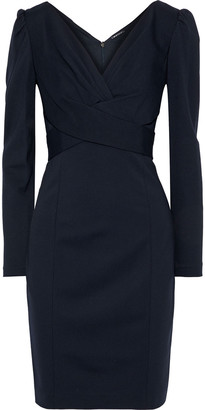 Elie Tahari Zoe Crossover Jersey Mini Dress