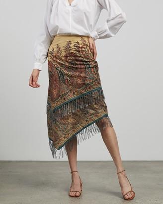 Ralph Lauren RRL Tiered Skirt
