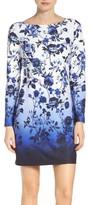 Vince Camuto Petite Women's Floral Sheath Dress