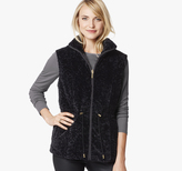 Johnston & Murphy Reversible Faux Fur Vest