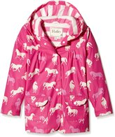 Hatley Little Girls Classic Horses Raincoat
