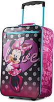 """American Tourister Disney Minnie Mouse 18"""" Softside Rolling Suitcase"""
