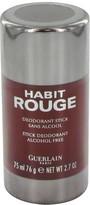 Guerlain HABIT ROUGE by Deodorant Stick for Men (2.5 oz)