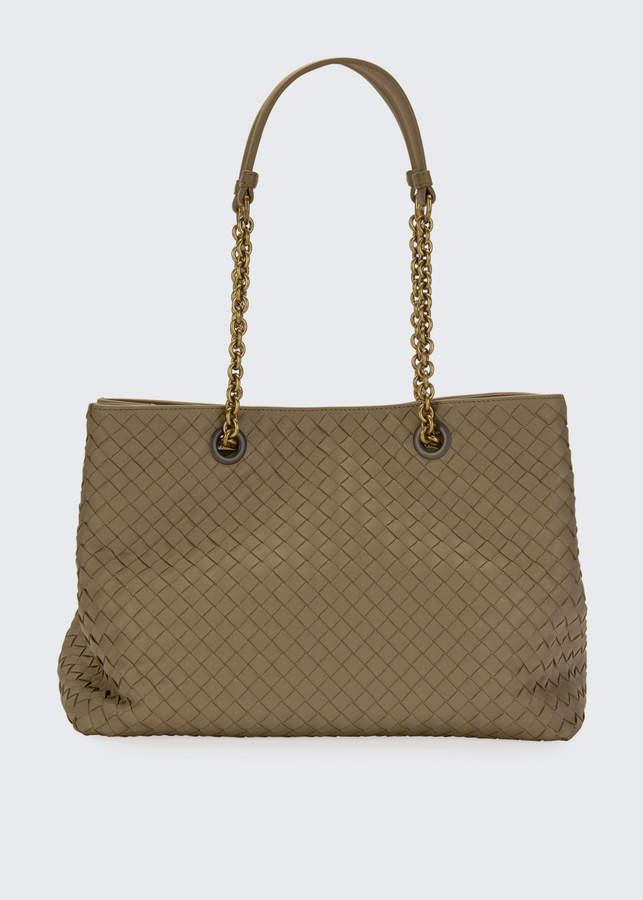 6973a96ae Bottega Veneta Gray Tote Bags - ShopStyle