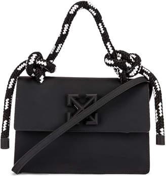 Off-White Off White Gummy Jitney 1.4 Bag in Black | FWRD