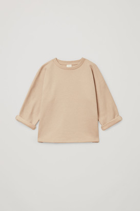 Cos Square Cotton Jersey Top