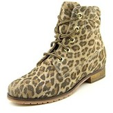 Bronx Mixer Up Women Round Toe Leather Brown Ankle Boot.