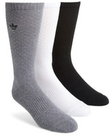 adidas Men's 3-Pack Quilted Socks