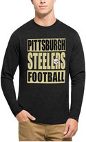 '47 Men's Pittsburgh Steelers Compton Club Long-Sleeve T-Shirt
