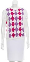 Burberry Argyle Scoop Neck Sweater