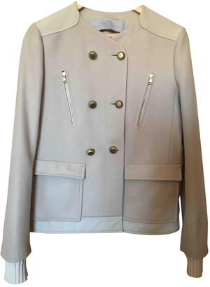 Schumacher Beige Wool Jacket for Women