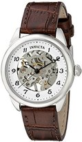 Invicta Women's 17198 Specialty Analog Display Mechanical Hand Wind Brown Watch