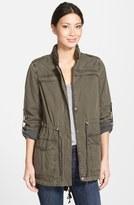 Levi's Lightweight Cotton Hooded Utility Jacket