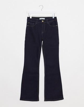 JDY Elia flared high waisted jeans