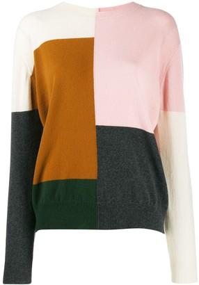 Parker Chinti & colour block jumper