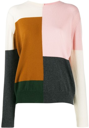 Chinti and Parker Colour Block Jumper
